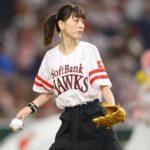 【画像】桐谷美玲がノーバン始球式…これはwwwwwww↓