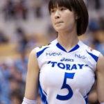 木村沙織(31)  Fカップ乳強調ボディースーツで復帰する「スノーバレーボール」  ※画像あり