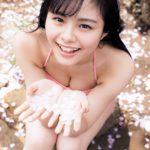 【画像】 NGT本間日陽(18)、いっぱい出たねポーズでグラビアwwwwwwwwwwwwww