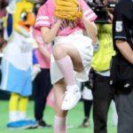 乃木坂46衛藤美彩、見事なノーバン披露 千賀「良かった」 ※動画・画像あり