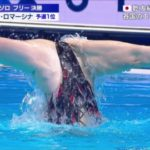 【放送事故】世界水泳、やらかす…ハイレグに食い込み過ぎておマ●コ放送事故を引き起こしてしまう…